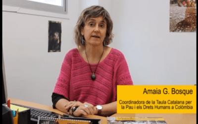 La Taula Catalana per Colòmbia