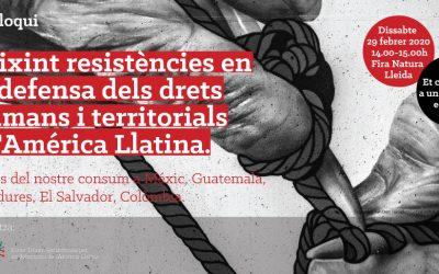Coloquio | Tejiendo resistencias en la defensa de los derechos humanos y territoriales en América Latina