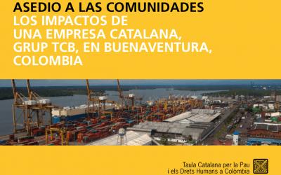 Los impactos de una empresa catalana, Grupo TCB, en Buenaventura (2015)