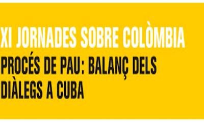XI Jornades sobre Colòmbia