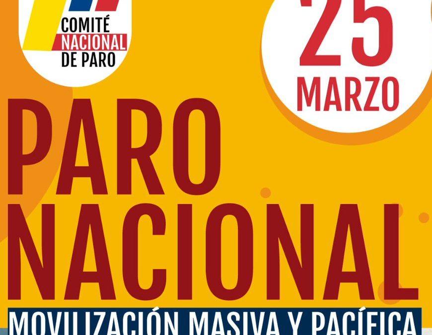 Alerta per l'escalada de violència vers el moviment sindical a Colòmbia