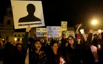 Carta obierta de ONGs a la embajada de Colombia en España
