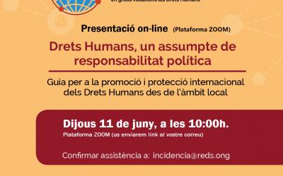 Derechos humanos, un asunto de responsabilidad política. Guía para la promoción y protección internacional de los Derechos Humanos desde lo local