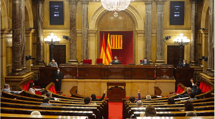 El Ple del Parlament dona llum verda a la Llei de Creació del Centre d'Empreses i Drets Humans